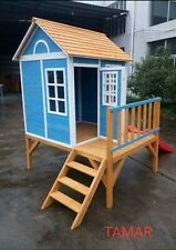 RAISED CUBBY HOUSE
