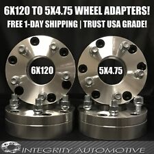 6x120 to 5x4.75 Wheel Adapters Hubcentric 2 Inch | 5 Lug Wheels On 6 Lug Truck
