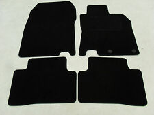 Nissan Qashqai 2014-on Fully Tailored Deluxe Car Mats in Black