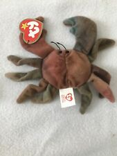 Ty Beanie Baby - McDonalds  Happy Meal Mini - Claude The Crab