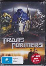 Transformers - DVD (Brand New Sealed) + Fan Card Region 4 PAL