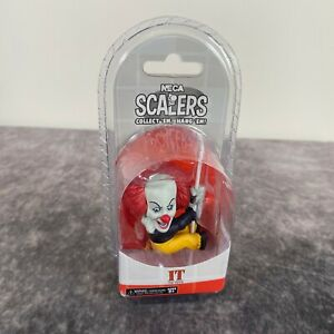 NECA Scalers IT The Movie Pennywise Figure NEW Sealed 2018 Horror Stephen King
