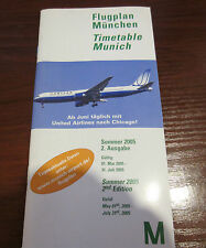 Timetables Airport Collectables