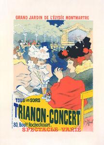 Trianon Concert by Georges Meunier 90cm x 64cm Art Paper Print