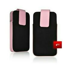 Funda Carcasa Forcell Flíper Aspecto Cuero IPHONE 3G 3GS - Rosa
