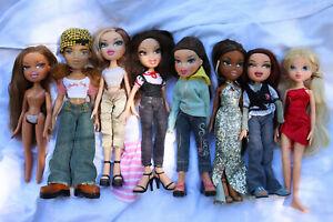 ⭐️ Bundle of 8 Bratz dolls and accessories - 2001 - Gorgeous lot ⭐️