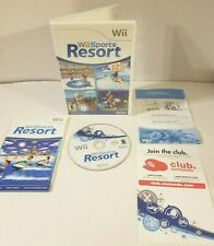 Nintendo Wii Sports Resort Tested & Complete Hard to Find w/ 12 Sports to Play!