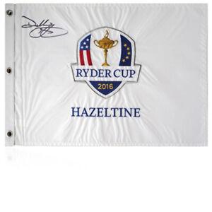 Darren Clarke Signed 2016 Ryder Cup Flag