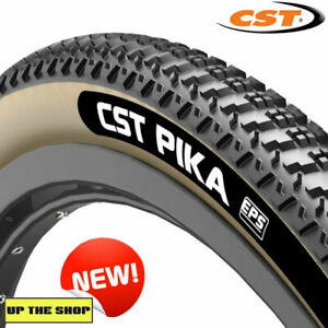 CST, PIKA 700 x 38c Tan wall Gravel bike tyre Tubeless Ready with EPS technology