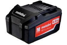 New Genuine Metabo 625591000 18V Li-Power Li-Ion 4.0Ah Life Long Battery Pack