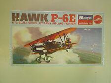 1/72 scale Monogram Hawk P-6E Army BiPlane Fighter