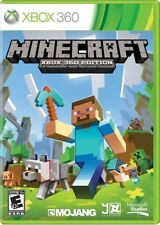 Minecraft Xbox 360 Game for Kids Excellent Condition UK Version PAL