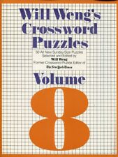 Will Weng's Crossword Puzzles, Vol. 8 (1982) UNUSED COPY