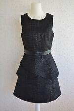Ärmelloses Kleid mit Schößchen, Gr. M / 38, neu