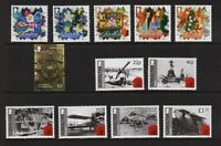 Gibraltar - 3 MNH sets from 2014-15, cat. $ 27.25