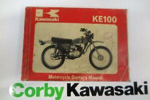 KAWASAKI KE100 A9 OWNERS MANUAL
