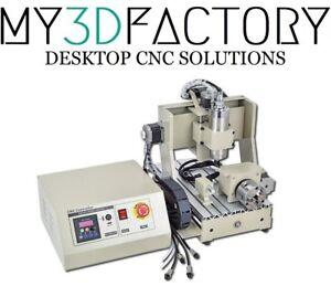 Fresa Pantografo CNC 200x300mm 4assi 3D 800w USB ITA 3020