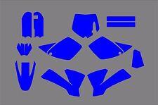 KTM SX 65 MX Motocross 2002 2003 2004 2005 2006 2007 2008  Template vector EPS