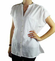 CLEARANCE! WOMEN SHORT SLEEVE TOP WHITE OVERSIZE SIZE 8 - 14 WOMENS