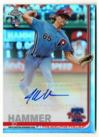 JD HAMMER RC 2019 TOPPS CHROME UPDATE ROOKIE REFRACTOR AUTO PHILLIES