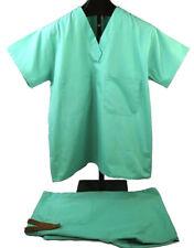 2 Piece Set Nursing Scrub American Surgical Men Women Unisex Top Pants Hospital