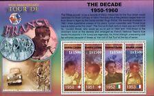 MODERN GEMS - Sierra Leone - Tour de France 100th Anniversary - Sheet of 4 - MNH