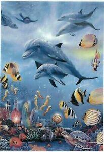 NEW & SEALED DOLPHIN SEAHORSE KINGDOM 1000 Piece Jigsaw Steve Sundran SUNSOUT