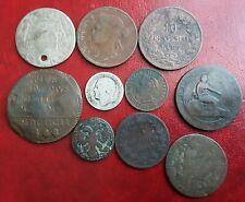 6) Lotto monete antiche da studio anche argento