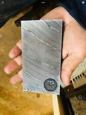 Real Damascus Mandalorian Beskar Steel ingot movie prop