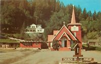 St. Philps Catholic Church Occidental California CA Sonoma Postcard