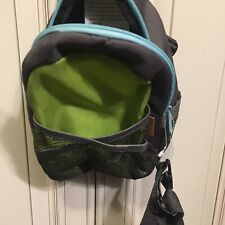 Brica By-My-Side Safety Harness Backpack Green//Blue