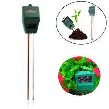 3 Function in 1 Soil Test Kits for Garden Soil PH Moisture Light Probe Meter HOT