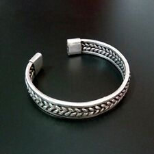 hand-woven Miao silver bracelet 1piece Retro national wind featured Chinese