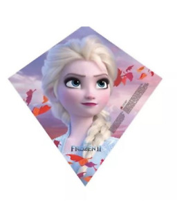 X-Kites Sky Diamond 23'' Frozen 2 Poly Diamond Kite with Skytails Handle & Line