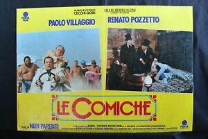 LE COMICHE - Parenti, Villaggio, Pozzetto - FOTOBUSTA ORIGINALE 1992