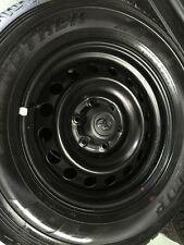 Toyota Hilux & Fortuner Black Steel wheels/rims with tyres - NEW 2015-2016 model