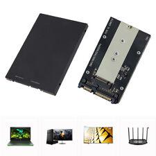 """M.2 NGFF (SATA) SSD to 2.5"""" SATA 3.0 Adapter Card Case HDD Enclosure Converter"""
