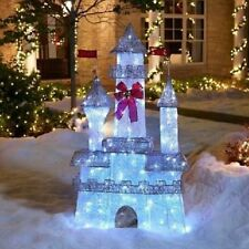 6' Twinkling Castle Christmas Princess Outdoor Yard Decor - LOCAL PICKUP ONLY