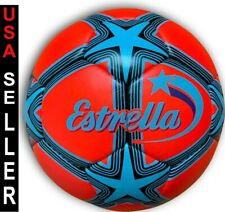 Titano Estrella Senior size Futsal 7 Star Futsal Official Match Ball Red
