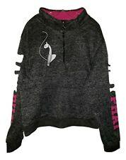Baby Phat Gray & Pink Zip Neck Jacket