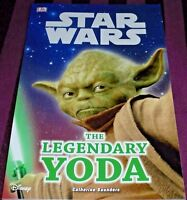 STAR WARS - THE LEGENDARY YODA -48 PAGE BOOK- (BRAND NEW)