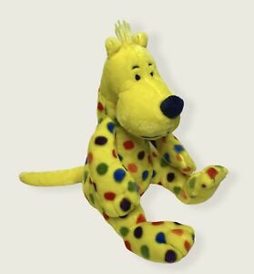 "Kohls Cares Put Me in the Zoo Plush 12"" Dr. Seuss Toy Yellow Polka Dot Dog"