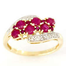 Handmade Ruby Yellow Gold Fine Rings