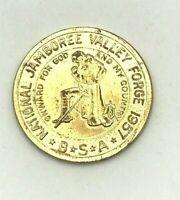 VINTAGE 1957 Boy Scouts of America National Jamboree Challenge Coin-Token
