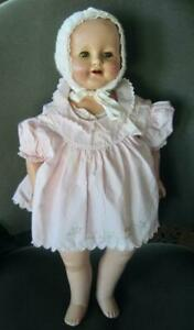 """Vintage Effanbe Marilee 22"""" Composition and Cloth Doll"""