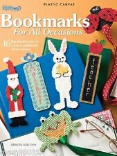 Plastic Canvas Pattern Book BOOKMARKS For All OCCASIONS ~ Motifs, Magnets, +