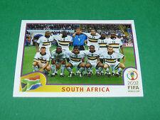 N°151 EQUIPE TEAM SOUTH AFRICA PANINI FOOTBALL JAPAN KOREA 2002 COUPE MONDE FIFA