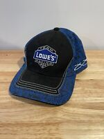 Nascar Team Lowes Racing Jimmie Johnson 48 Fitted Hat Cap Blue Chase Authentics