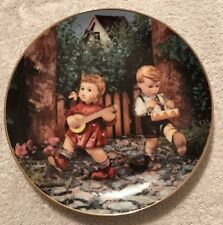 """M.I.Hummel, 1992, """"Private Parade�, Danbury Mint Plate. Serial Number Mm9154."""