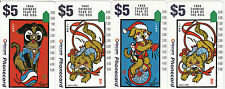Phonecards 1994 Australia Chinese Year of the Dog magnetic set of 4